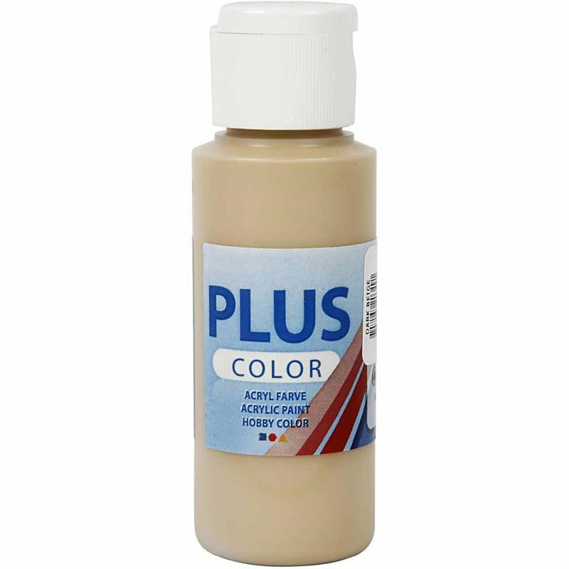 Culori acrilice Plus Color,60ml,dark beige