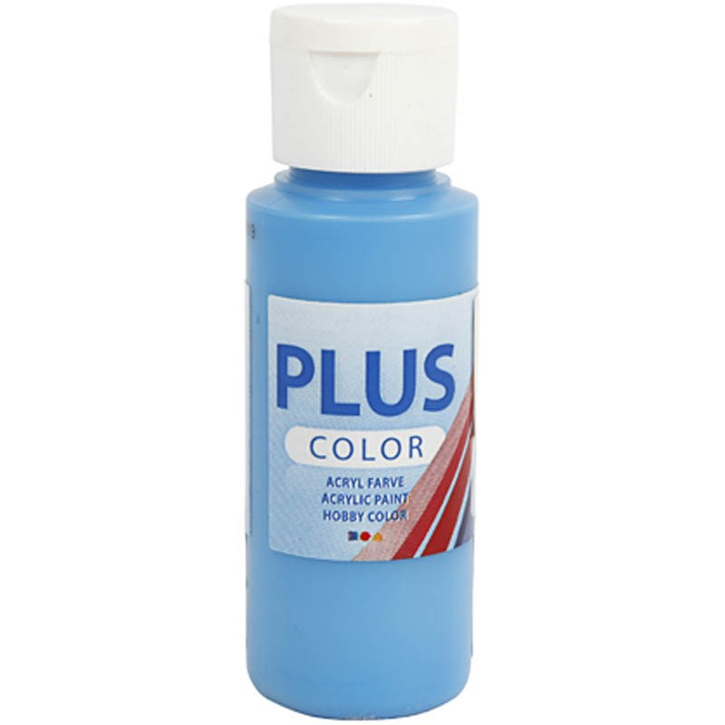Culori acrilice Plus Color,60ml,ocean blue