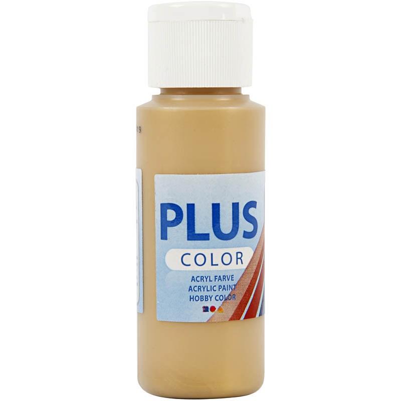 Culori acrilice Plus Color,60ml,auriu