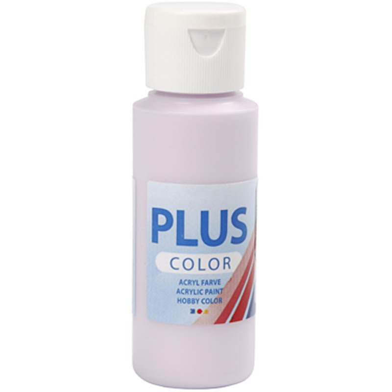 Culori acrilice Plus Color,60ml,pale lilac