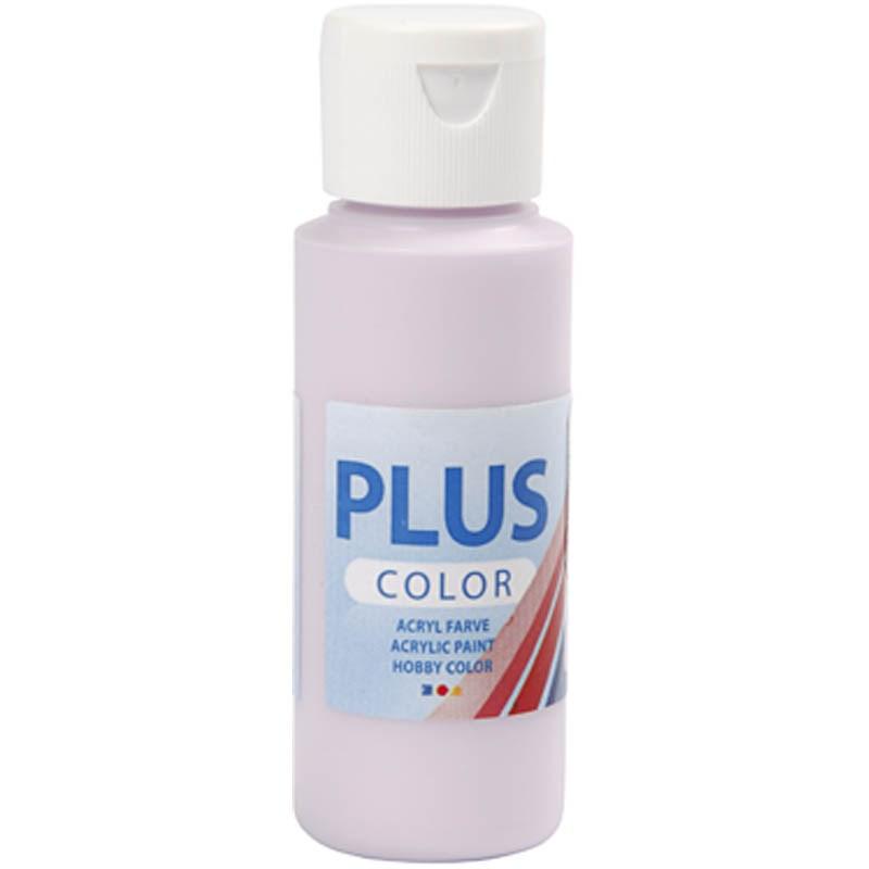 Culori acrilice Plus Color,60ml,pale lilac