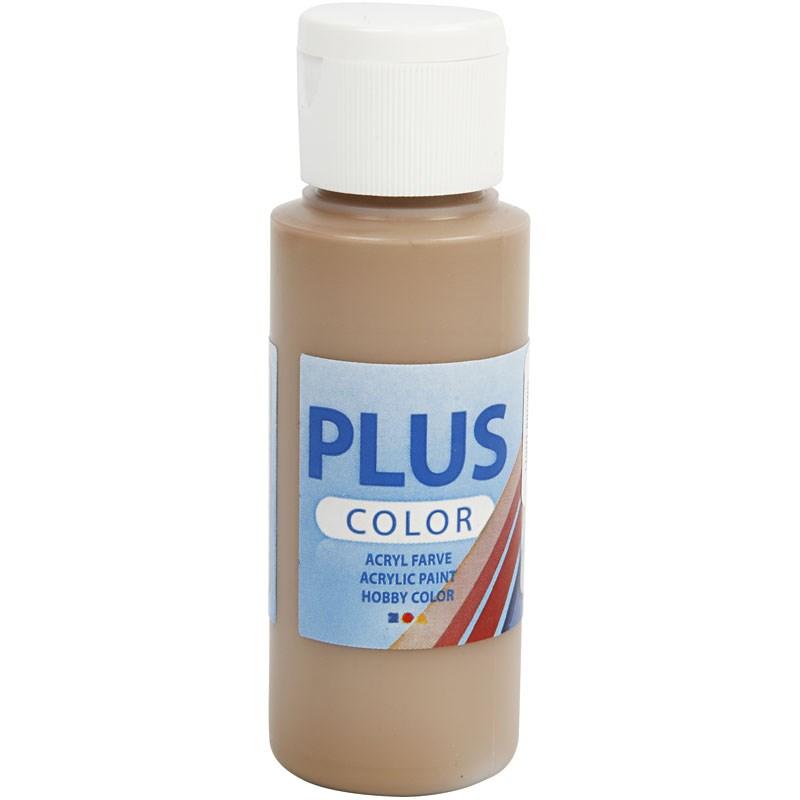 Culori acrilice Plus Color,60ml,light brown