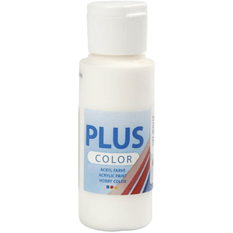 Culori acrilice Plus Color,60ml,off white