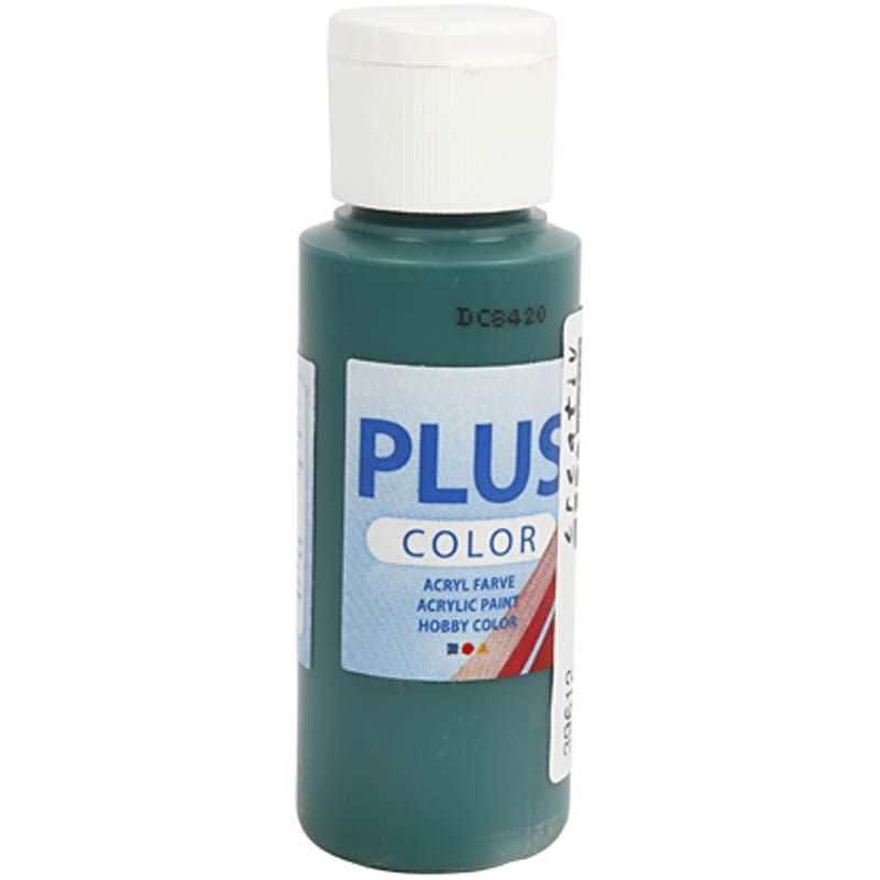 Culori acrilice Plus Color,60ml,dark green