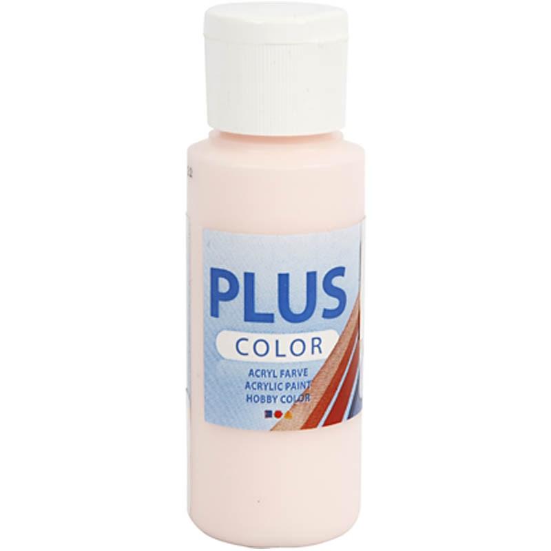 Culori acrilice Plus Color,60ml,pale rose