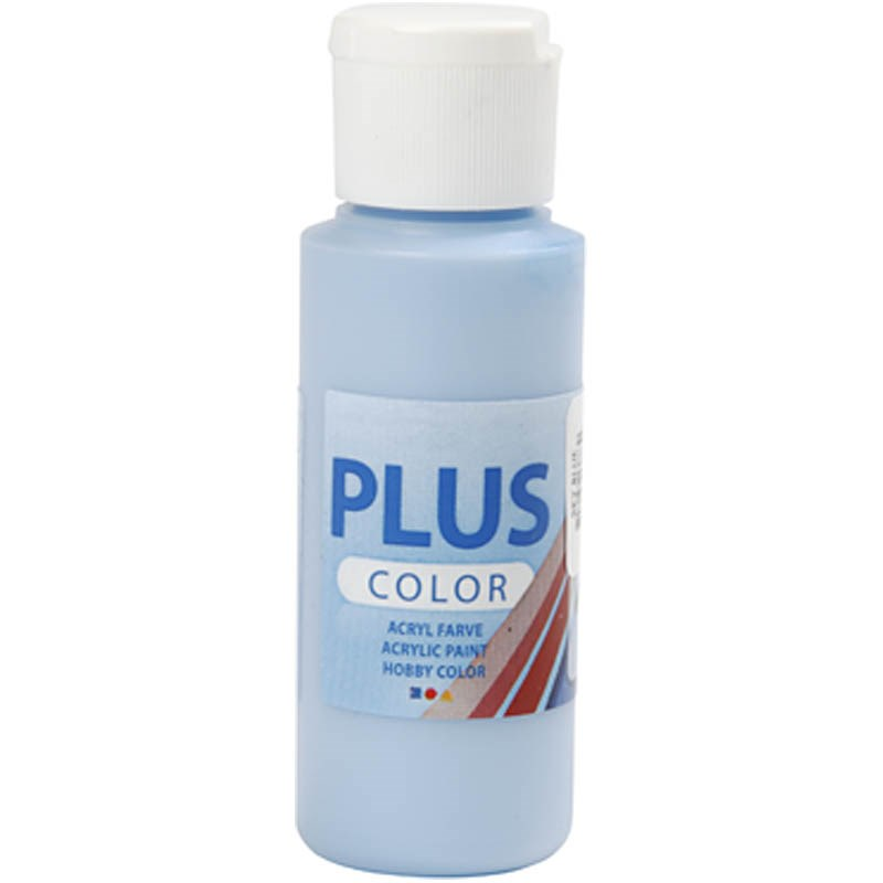 Culori acrilice Plus Color,60ml,sky blue