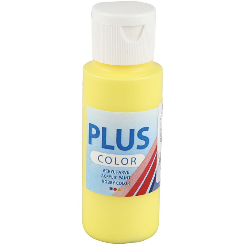 Culori acrilice Plus Color,60ml,primary yellow