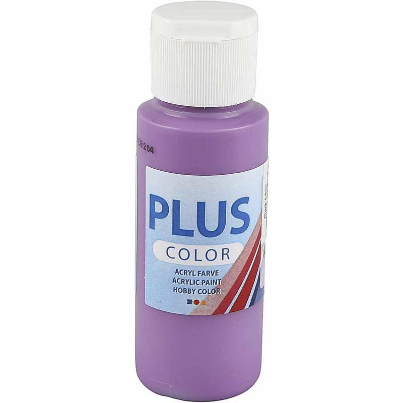 Culori acrilice Plus Color,60ml,dark lilac