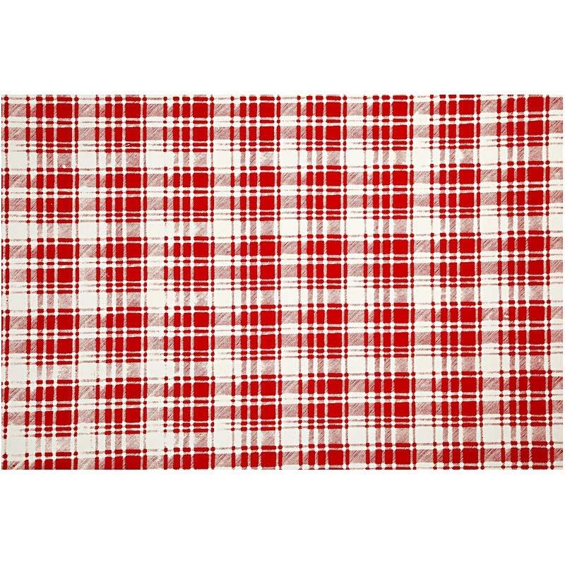 Hartie manuala 38x56,110g,rosu/alb/caro