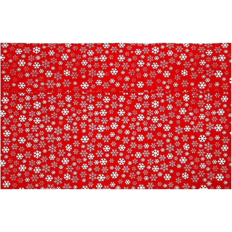 Hartie manuala 38x56,110g,rosu/alb/cristal