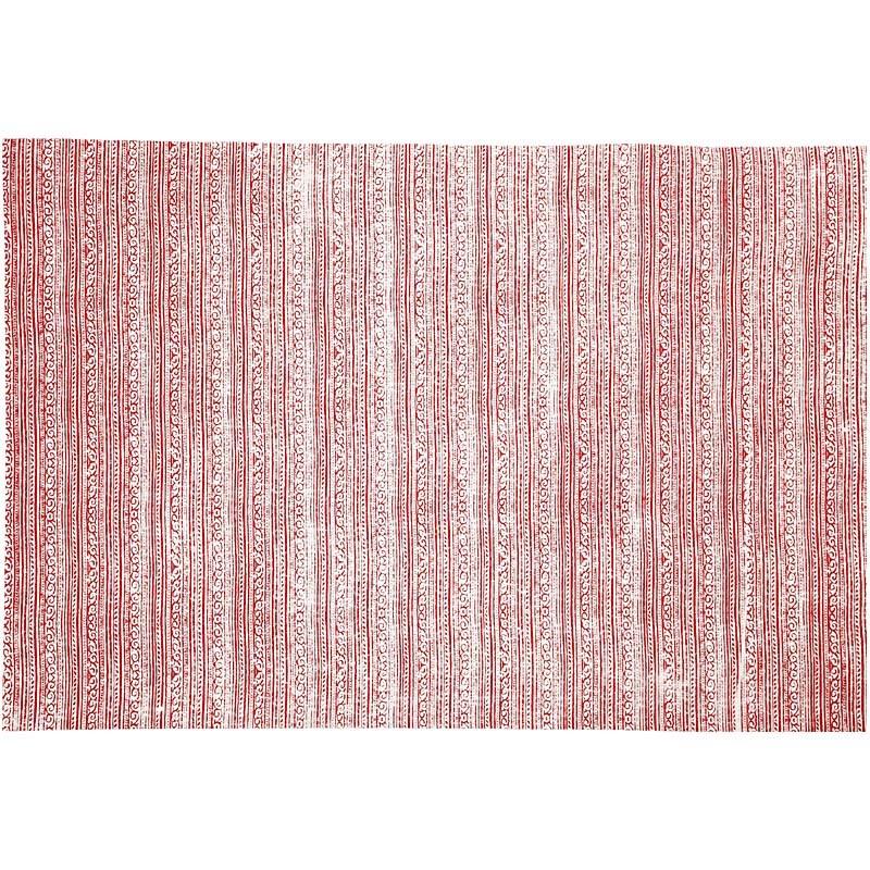 Hartie manuala 38x56,110g,rosu/alb/chenar