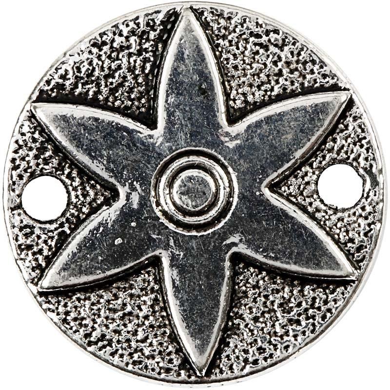 Medalion,25mm,ag.antic,6buc,63251