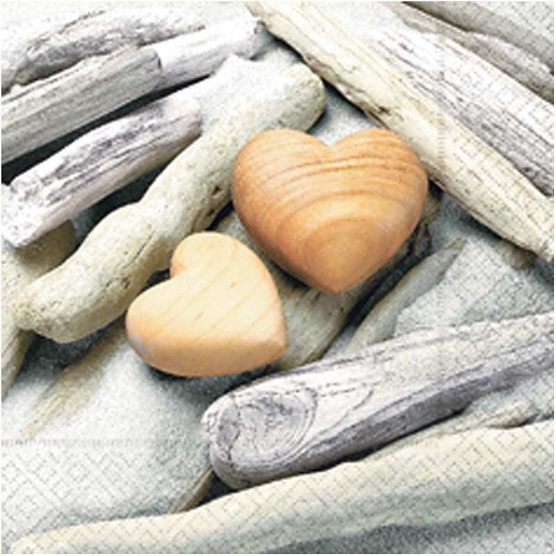 Servetele,33x33cm,20buc,inima curata