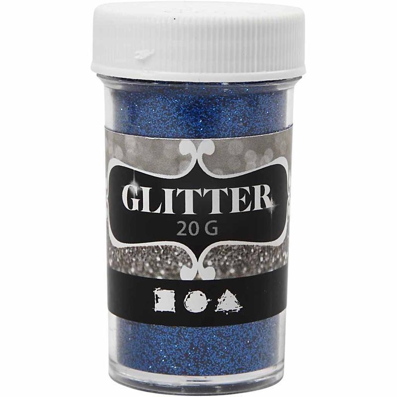 Glitter,20g,35mm,bleu