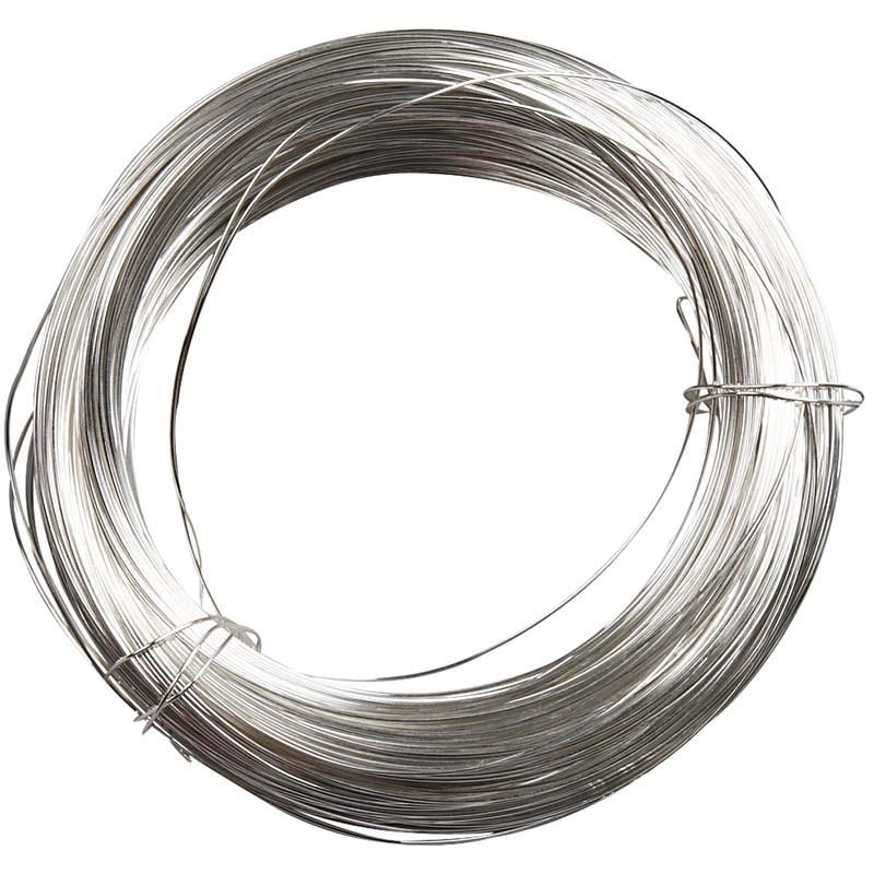 Fir placat argint,0.6mmx10m