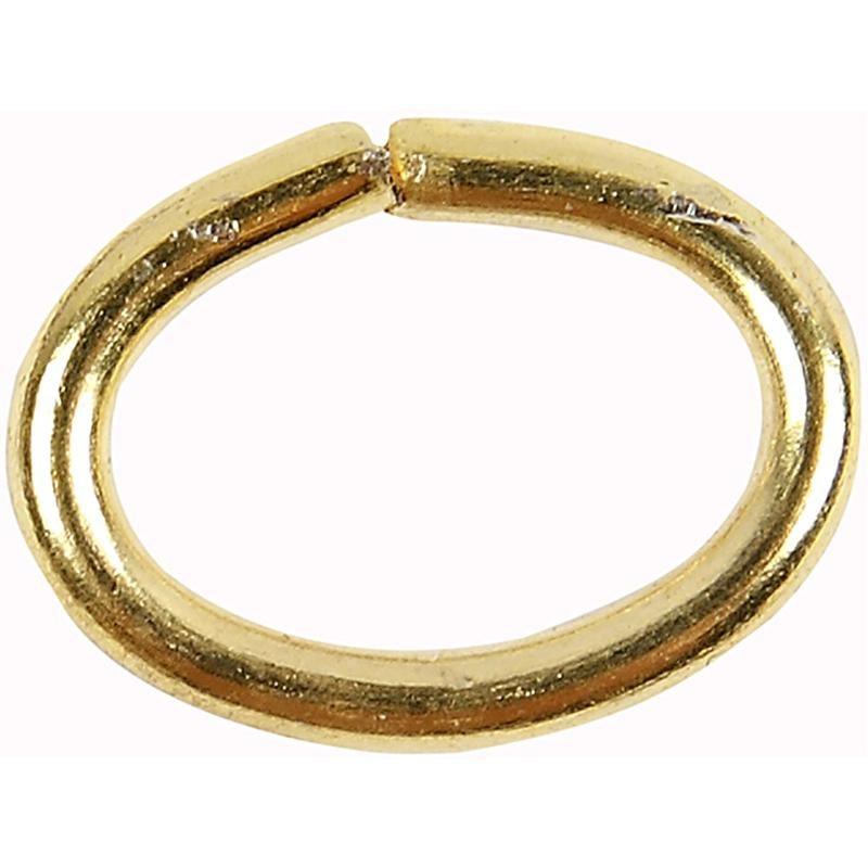 Inel oval,1mm,placat aur,40buc