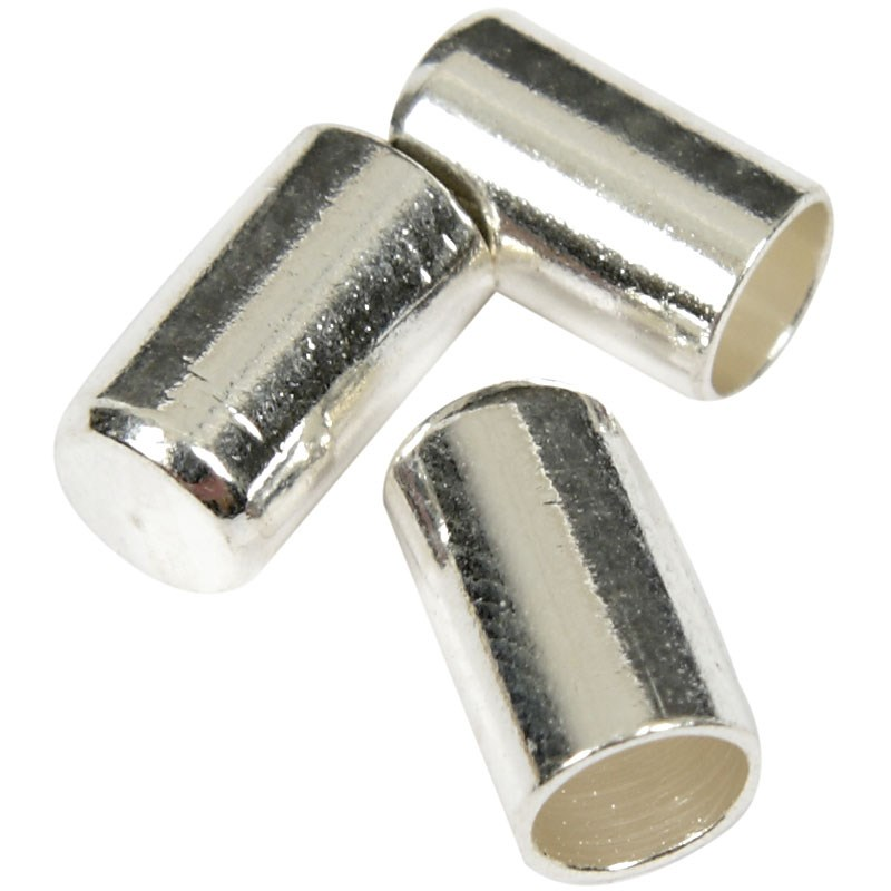 Inchizatoare,2.5mm,placat argint,10buc