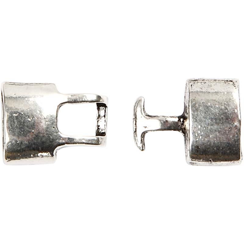 Inchizatoare,30x15mm,argint antic,2buc