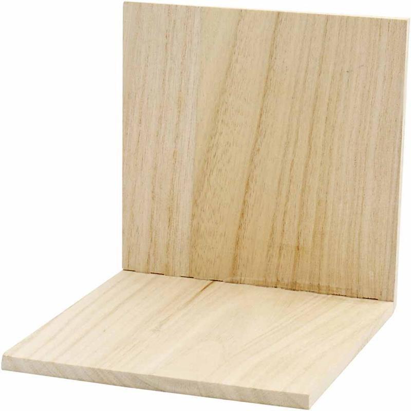 Suport carte,lemn,15x15x15cm