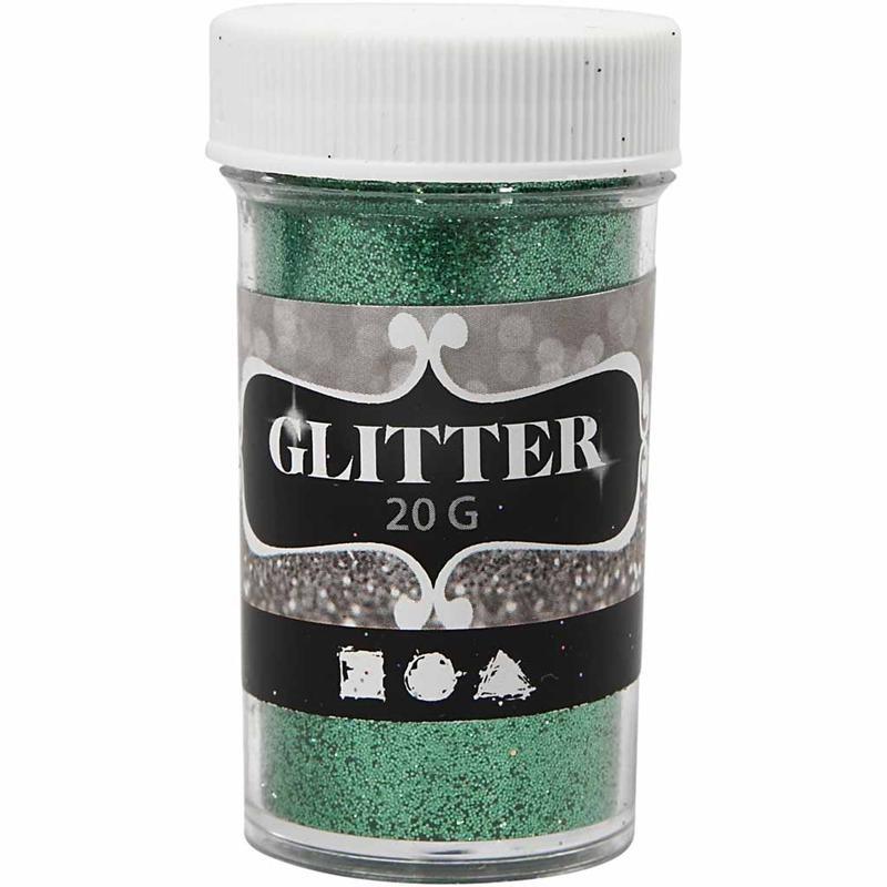 Glitter,20g,35mm,verde