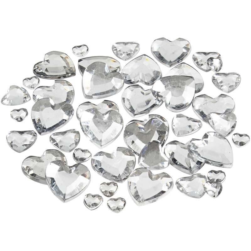 Pietre,6/10/14mm,inimi,argintiu,252 b/s