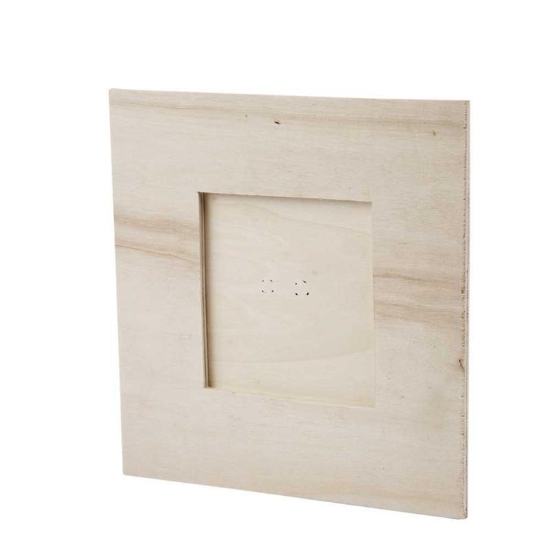 Rama foto,lemn,16x16cm