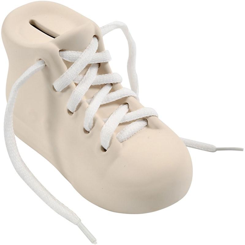 Pusculita pantof,ceramica,14x6,5x9cm,buc