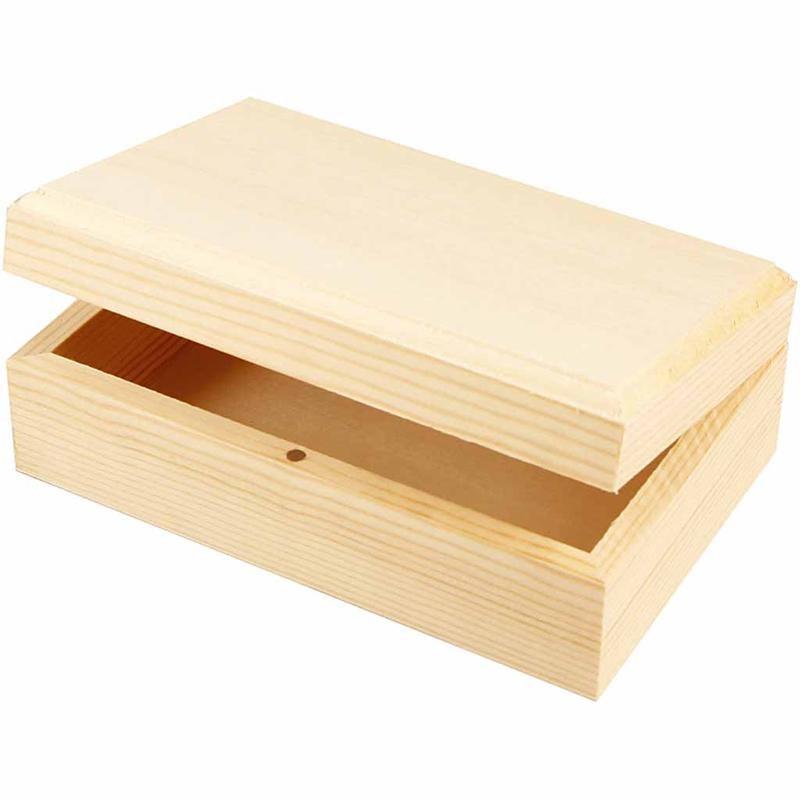 Cutie bijuterii,lemn,14x9x5cm