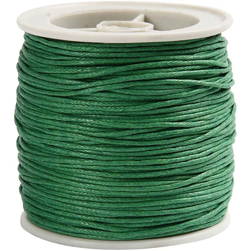 Snur bumbac,1mmx40m,verde
