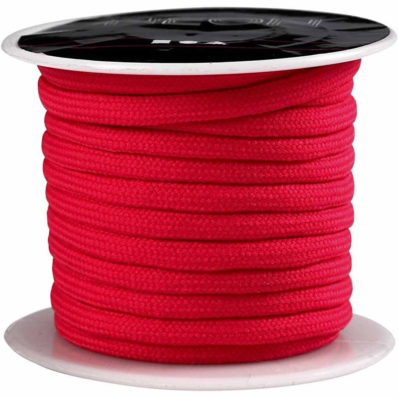 Snur,4mmx5m,roz neon