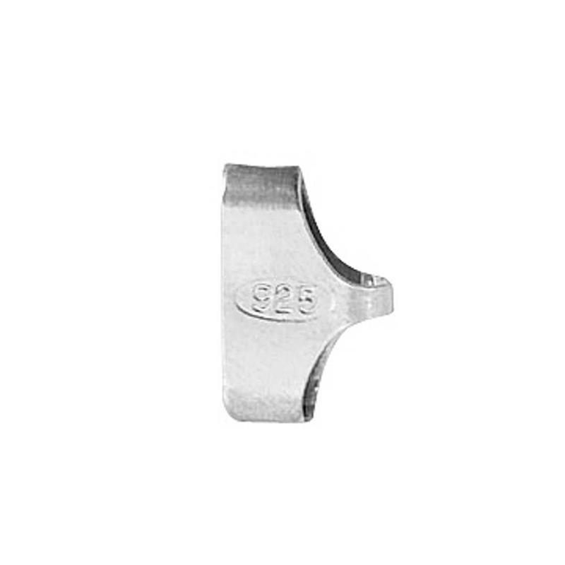Inchizatoare,12mm,argint,2buc