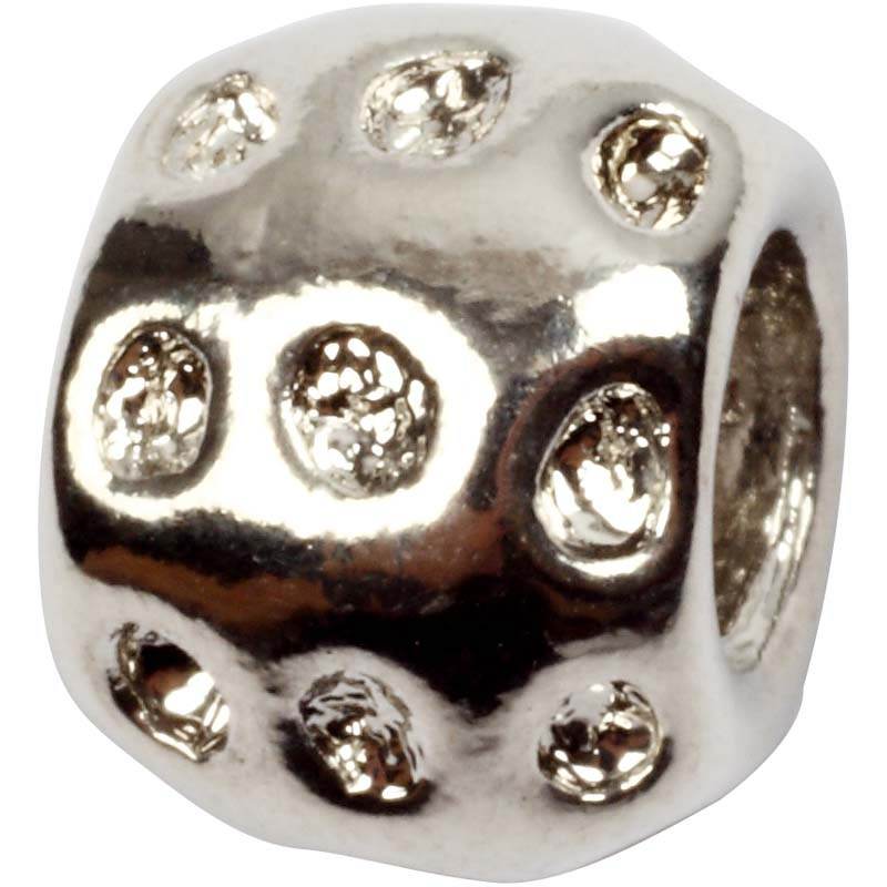 Distantier margele,8x10mm,ag,3buc,610821