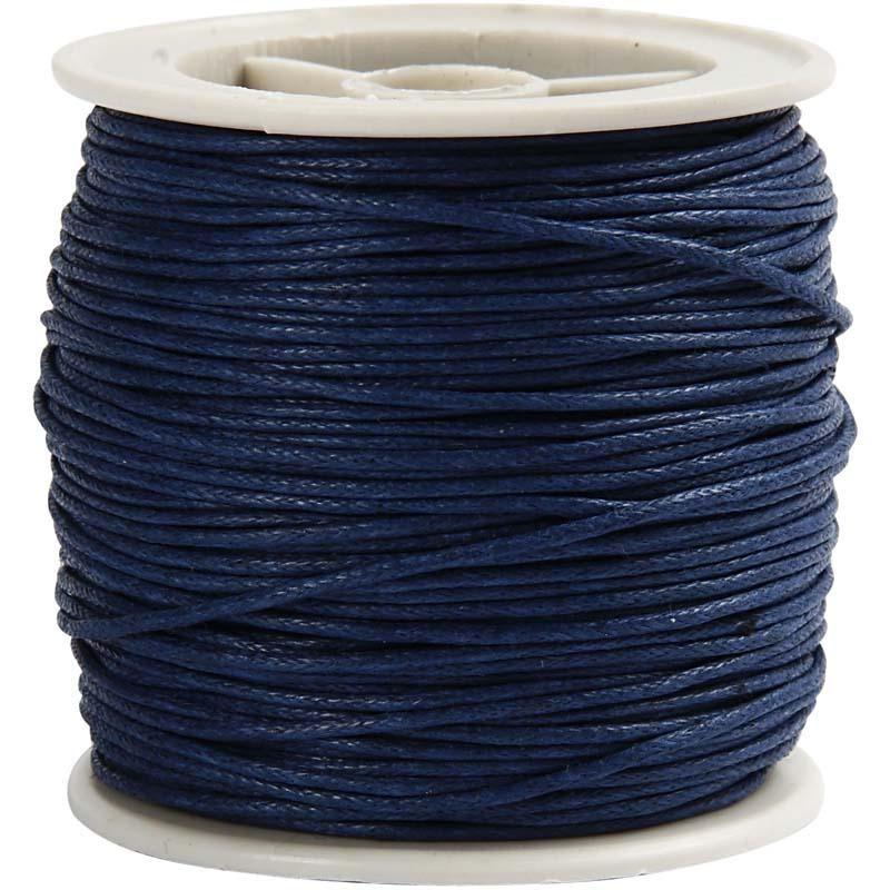Snur bumbac,1mmx40m,bleu