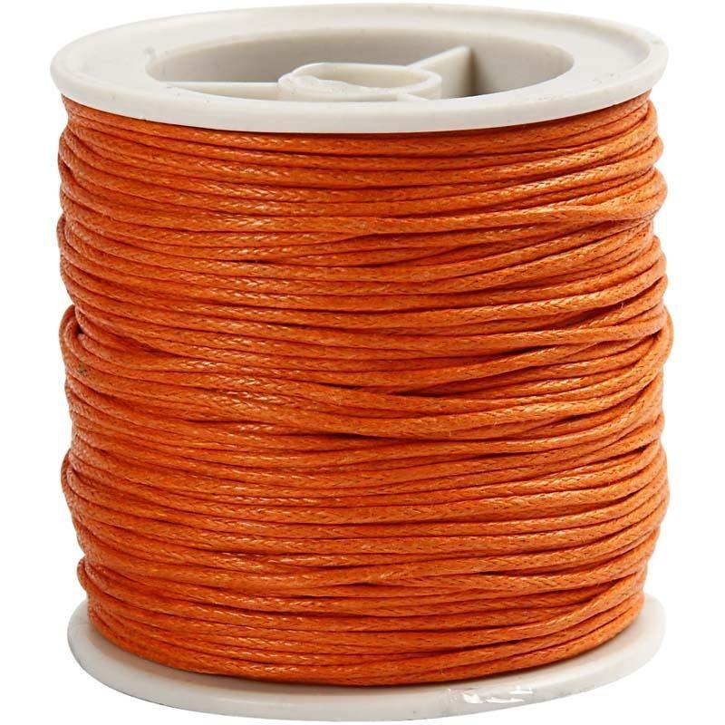 Snur bumbac,1mmx40m,portocaliu