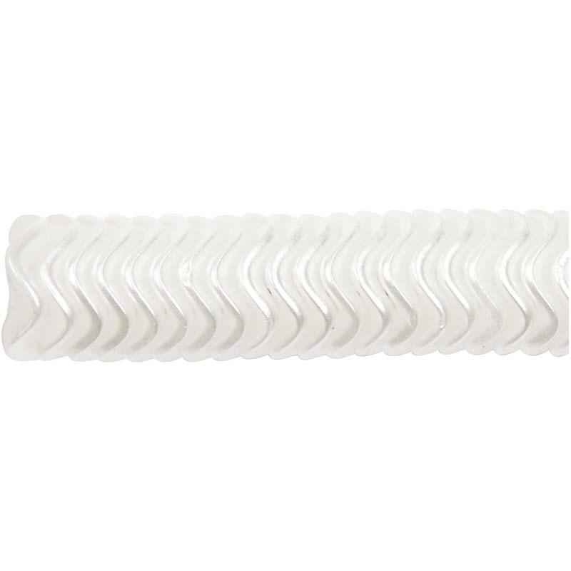 Margele plastic,13mm,perle valuri,39g/s
