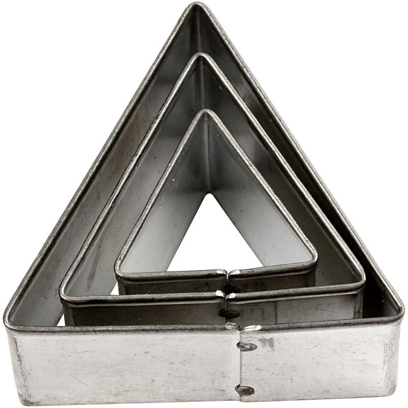 Forme pt modelaj,35x40cm,triunghi