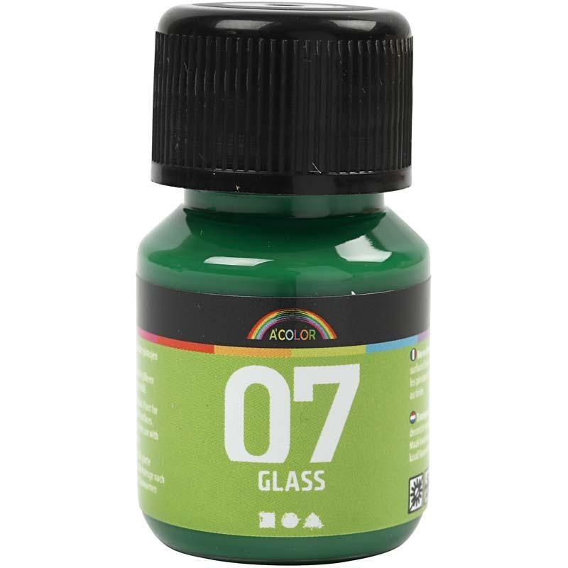 Culori pt sticla,30ml,verde