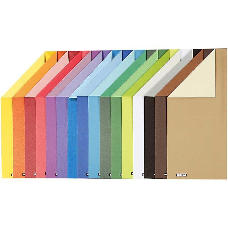 Hartie color A4,100g,16 culori asortate
