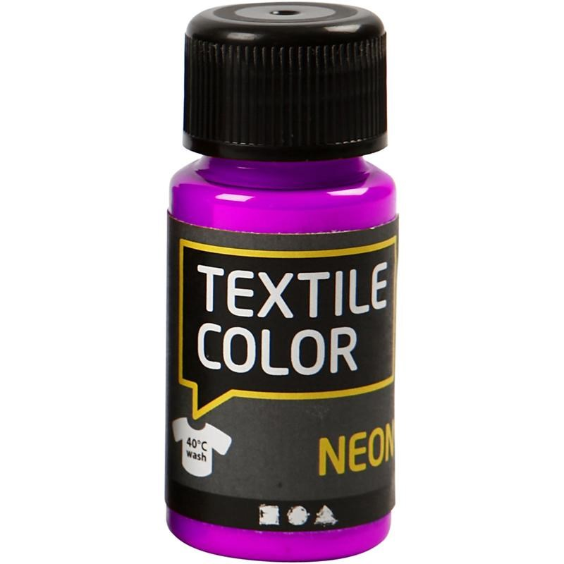 Culori neon pt tesaturi,50ml,liliac
