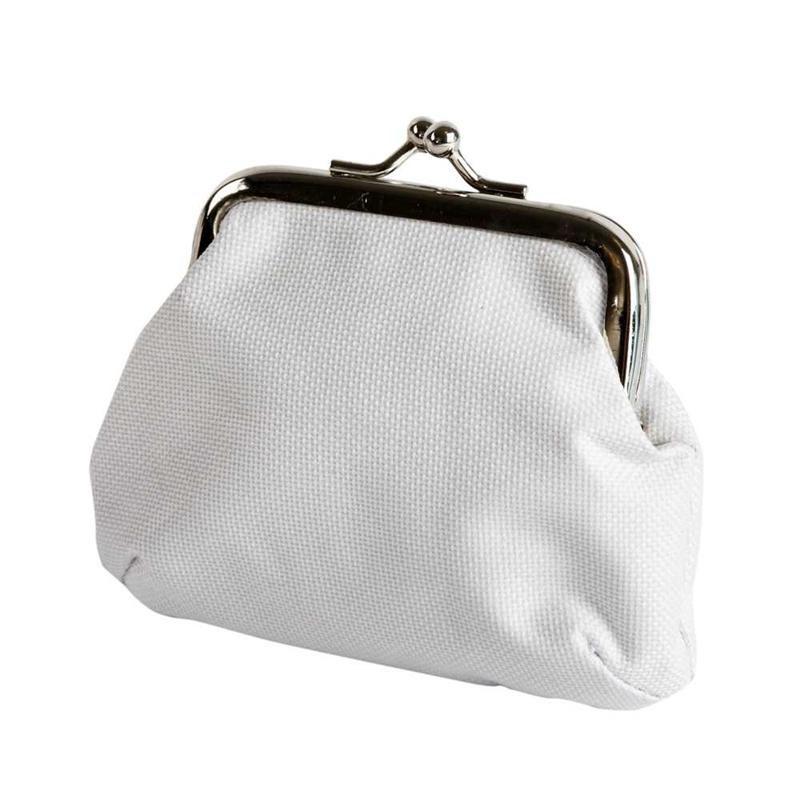 Portofel,9x10cm,alb