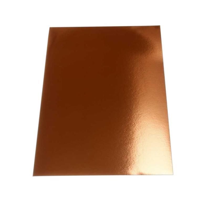 Carton efect metal A4,280g,10buc,aramiu