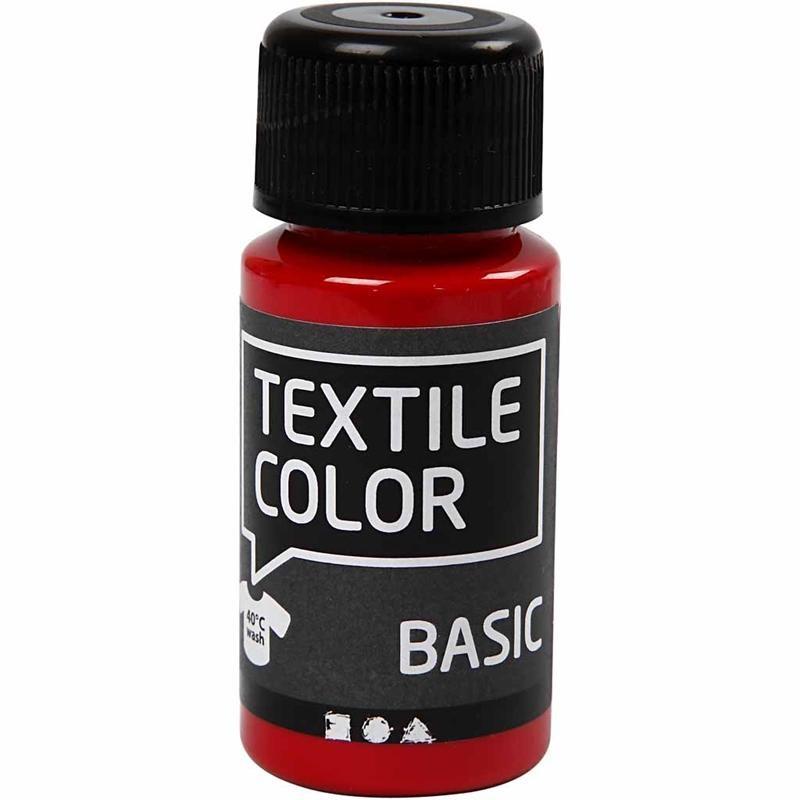 Culori pt tesaturi deschise,50ml,rosu