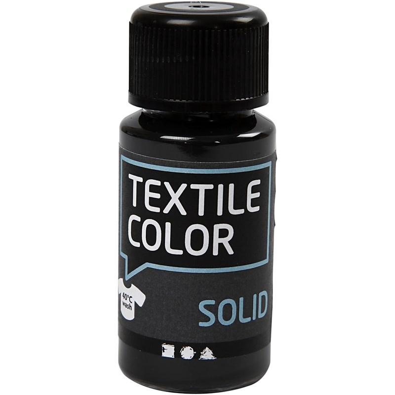 Culori pt tesaturi inchise,50ml,negru
