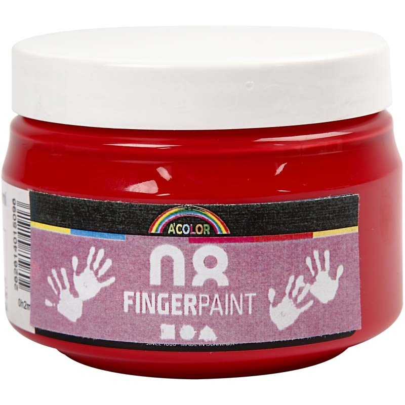 Finger Paint,150 ml,rosu