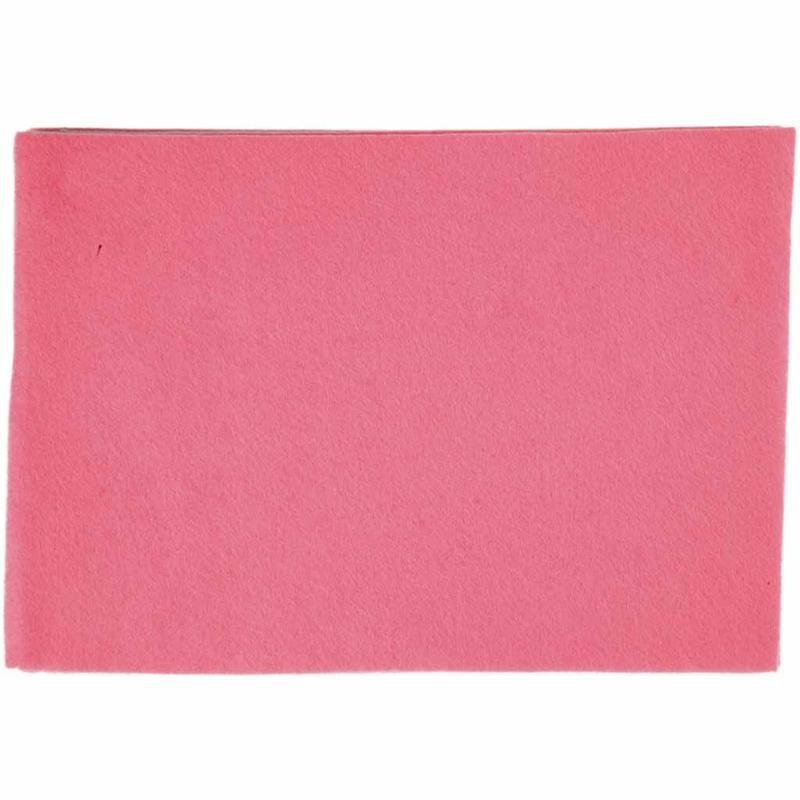 Fetru A4,21x30x0.2cm,roz,10buc/set