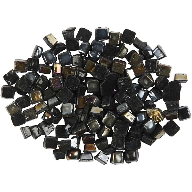 Mozaic,5x5mm,200g,dreptunghiular,negru