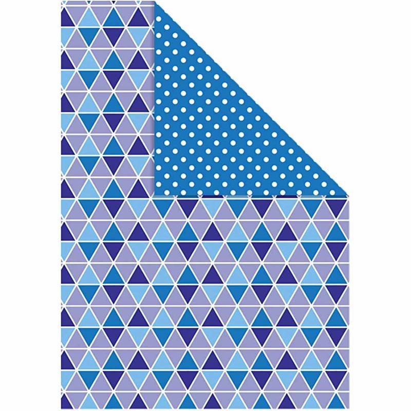 Carton A4,250g,10coli/set,blue/model