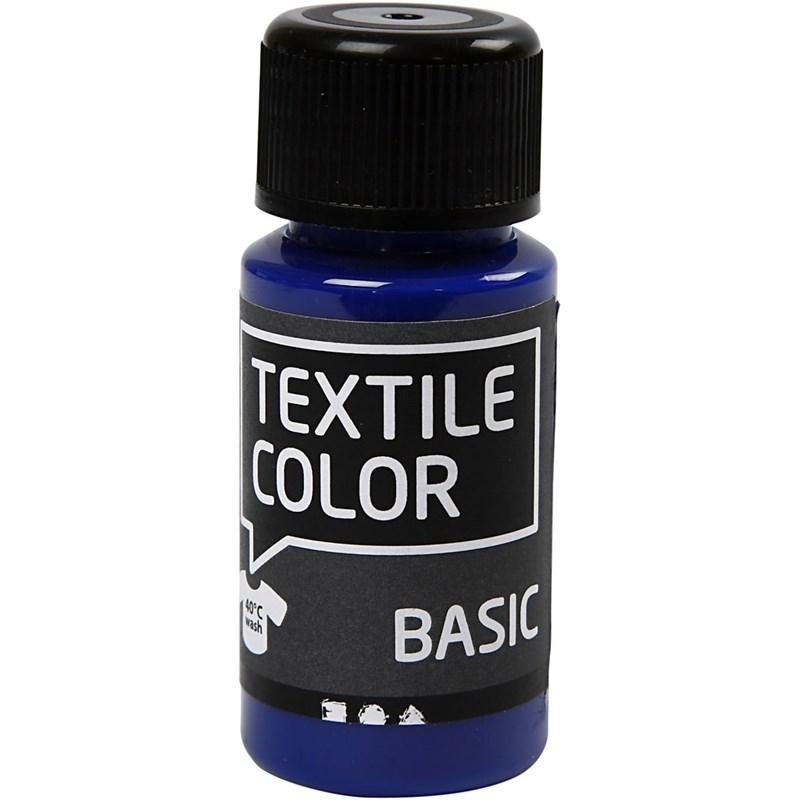Culori pt tesaturi deschise,50ml,bleu
