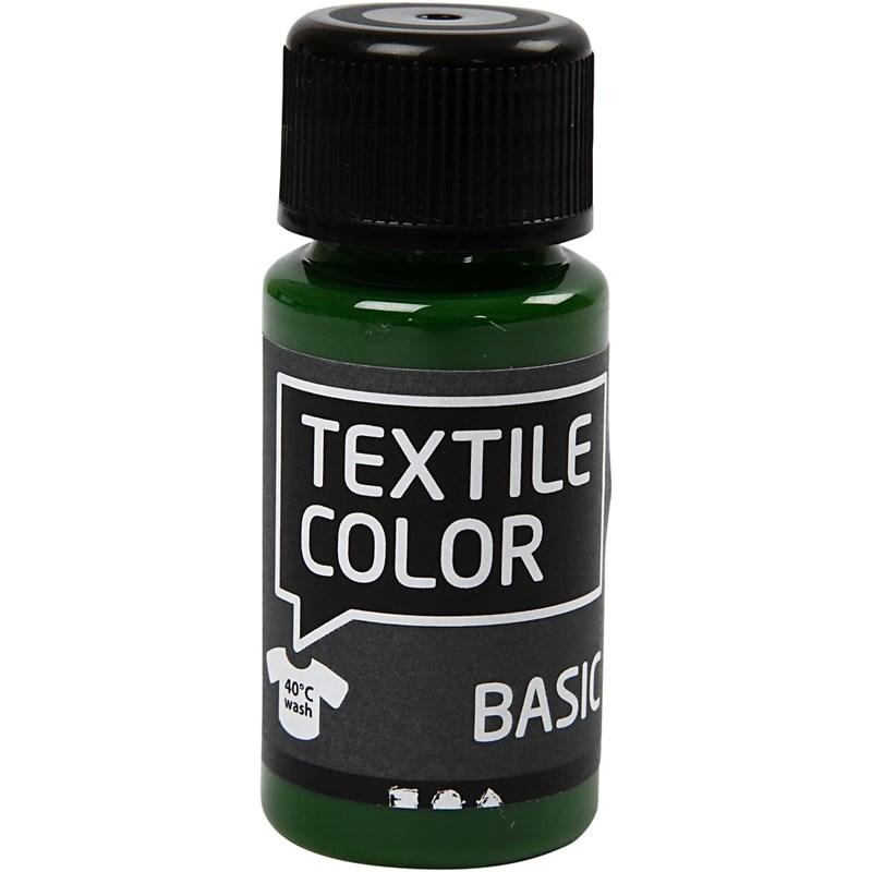 Culori pt tesaturi deschise,50ml,verde