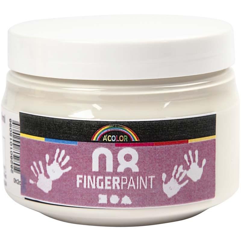 Finger Paint,150 ml,alb